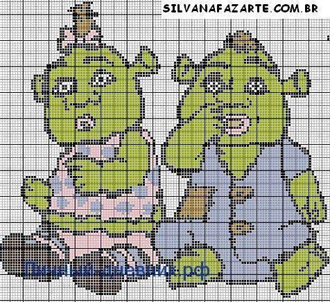 Как нарисовать детей Фионы