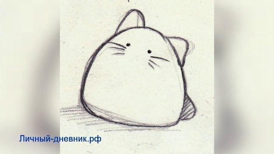 няшные картинки для срисовки карандашом легкие