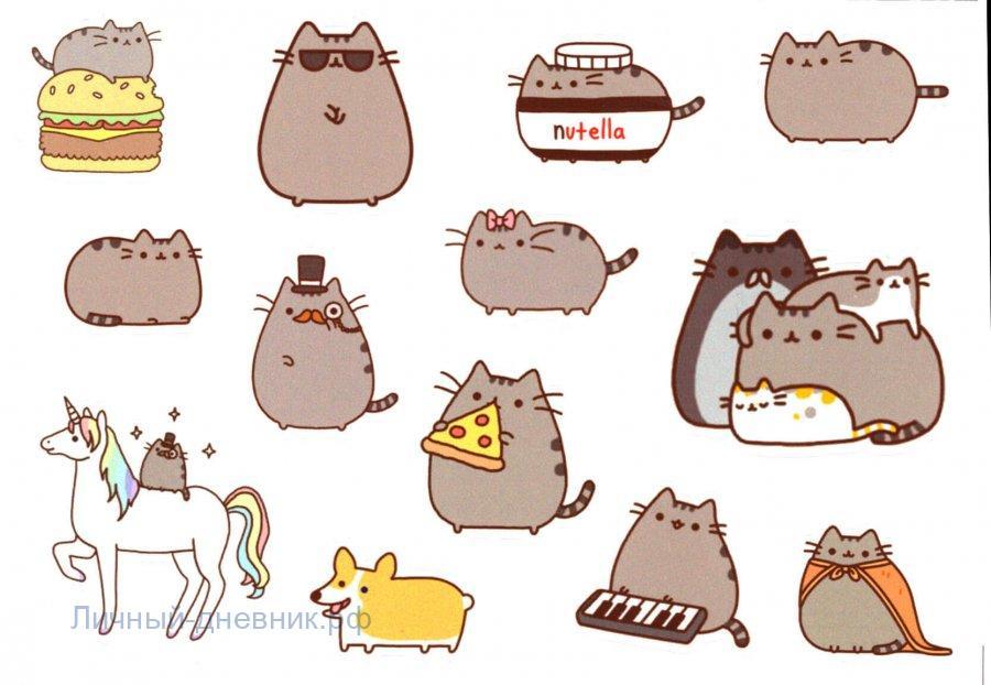 Стикеры для ЛД - Милые котики