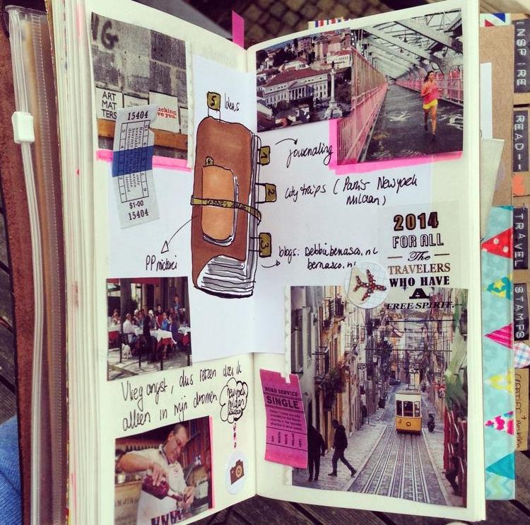 Страница путешествия в Личном дневнике
