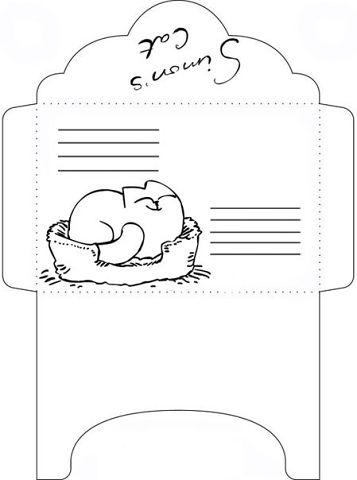 Черно белые конвертики для ЛД-Распечатки в хорошем качестве
