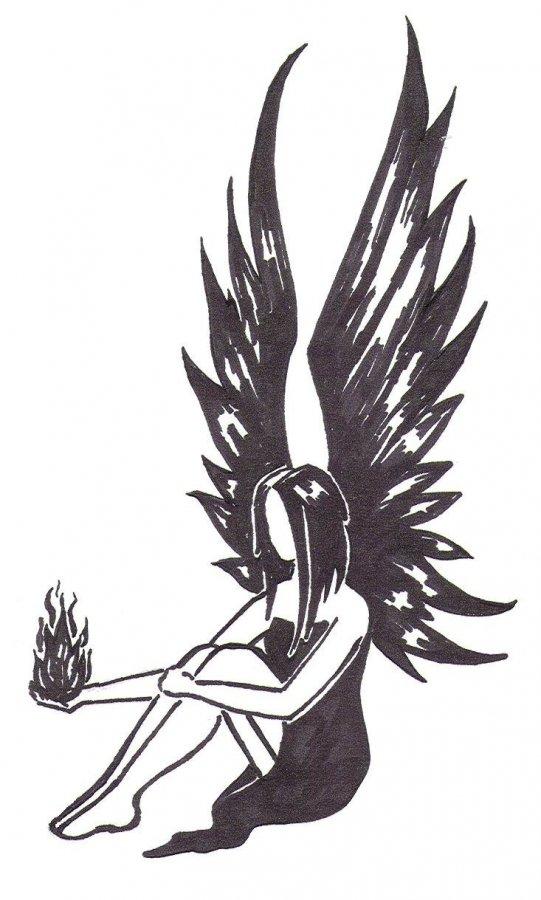 Девушка ангел картинки для срисовки, картинки