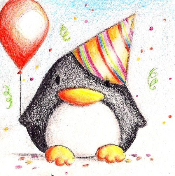 Картинки для срисовки на День Рождения