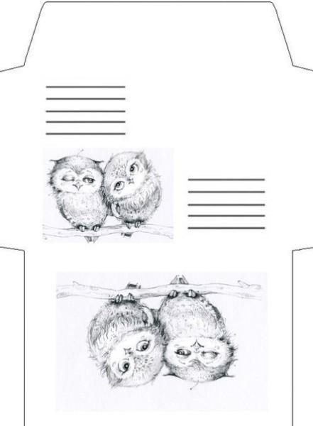 Конверт черно белый шаблоны распечатать, пасху нарисованные детьми